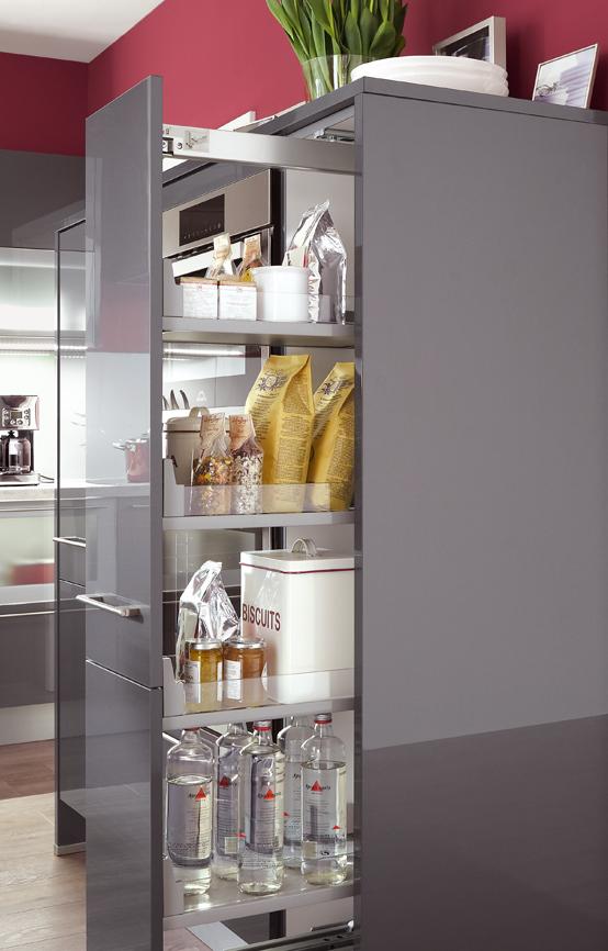 Aménagement cuisine – armoire coulissante