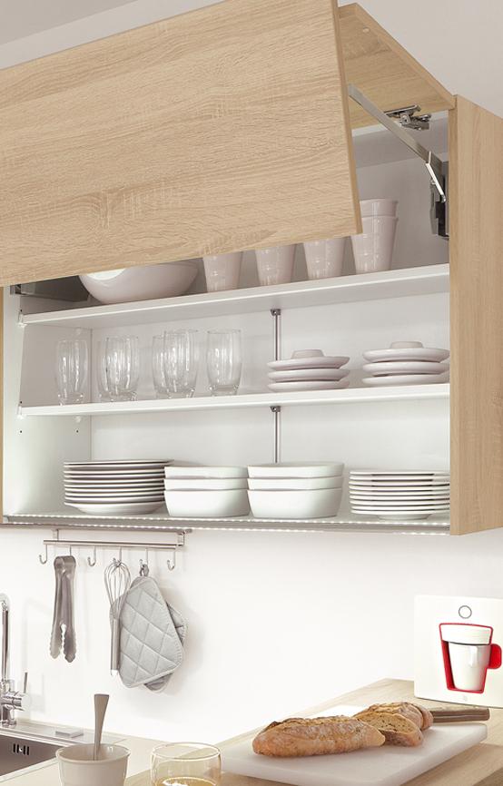 Aménagement cuisine – meuble haut